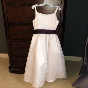 Like NEW! David's Bridal FlowerGirl Dress Size 12